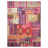 Safavieh Monaco Jade 9-Foot x 12-Foot Area Rug in Pink Multi