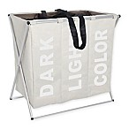 Wenko Trio Laundry Bin in Beige