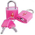 Safe Skies® TSA-Recognized Keyed Padlock (Set of 2) in Pink