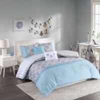 Intelligent Design Clara Twin/Twin XL Duvet Set in Blue