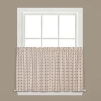 Crosswalk 24-Inch Kitchen Window Curtain Tier Pair in Navy