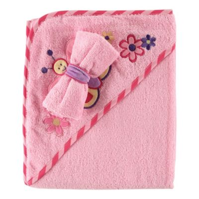 Buy Pink Baby Towels From Bed Bath Amp Beyond