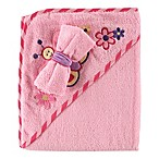 BabyVision® Luvable Friends® Hooded Towel and Washcloth Set in Pink