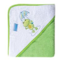 BabyVision® Luvable Friends® Umbrella Animal Woven Hooded Towel