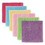 BabyVision® Luvable Friends® 6-Pack Woven Washcloths