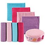 BabyVision® Luvable Friends® 8-Pack Washcloth Set and Sponge in Pink