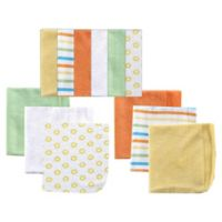 BabyVision® Luvable Friends® 12-Pack Washcloth Set in Yellow