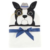 Baby Vision® Hudson Baby® Dog Hooded Towel in White