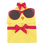 Baby Vision® Hudson Baby® Chicken Hooded Towel in Yellow