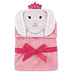 Baby Vision® Hudson Baby® Bunny Hooded Towel in Pink