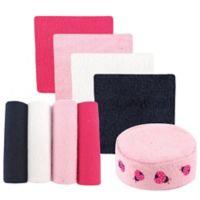 BabyVision® Luvable Friends® Sponge and 8-Pack Ladybug Washcloth Set