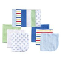 BabyVision® Luvable Friends® 12-Pack Washcloth Set in Blue