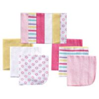 BabyVision® Luvable Friends® 12-Pack Washcloth Set in Pink