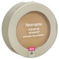 Neutrogena® Mineral Sheers® .34 oz. Compact Powder Foundation SPF 20 in Tan 80