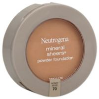 Neutrogena® Mineral Sheers® .34 oz. Compact Powder Foundation SPF 20 in Honey Beige 70