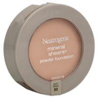 Neutrogena® Mineral Sheers® .34 oz. Compact Powder Foundation SPF 20 in Soft Beige 50
