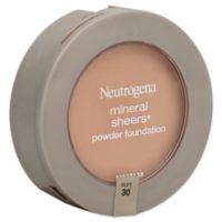 Neutrogena® Mineral Sheers® .34 oz. Compact Powder Foundation SPF 20 in Buff 30