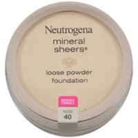 Neutrogena® Mineral Sheers® .19 oz. Loose Powder Foundation in Nude 40