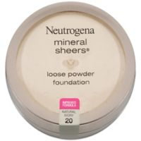 Neutrogena® Mineral Sheers® .19 oz. Loose Powder Foundation 20 in Natural Ivory 20