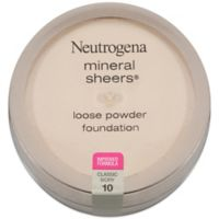 Neutrogena® Mineral Sheers® .19 oz. Loose Powder Foundation in Classic Ivory 10