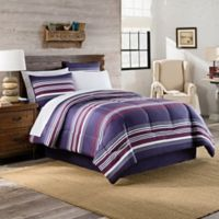 Acadia 8-Piece California King Comforter Set