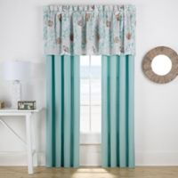 Muriel Window Curtain Panel Pair in Aqua