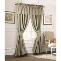 Rose Tree Norwich 84-Inch Window Curtain Panel Pair in Mushroom