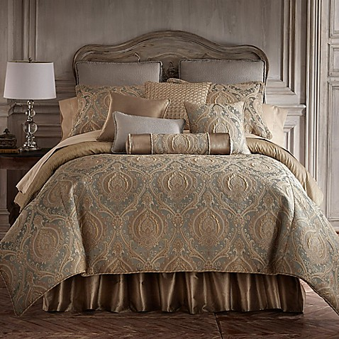 Rose tree norwich reversible comforter set in mushroom - Bed bath and beyond bedroom furniture ...
