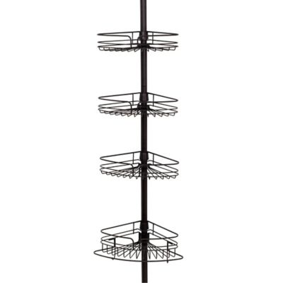 Buy Oil Rubbed Bronze Shower Caddy from Bed Bath & Beyond