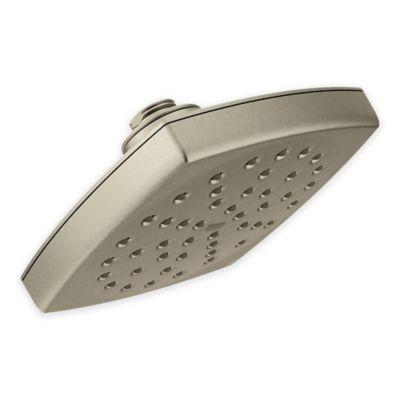 moen showerhead in brushed nickel