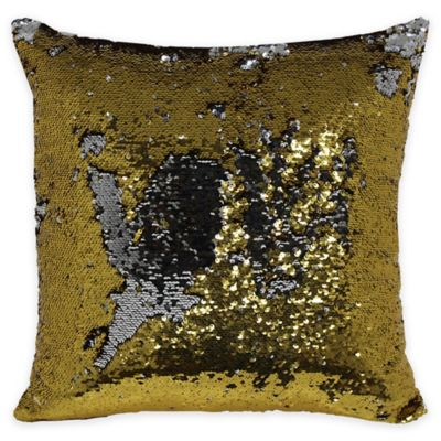 Preferred Buy Gold Sequin Pillows from Bed Bath & Beyond OK56