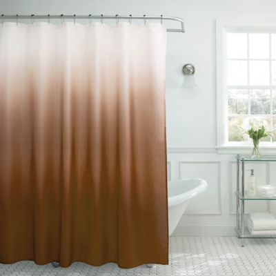 Buy Chocolate Brown Shower Curtain from Bed Bath & Beyond