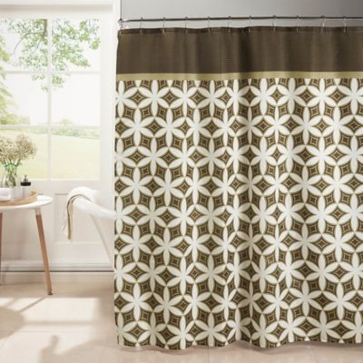 Curtains Ideas brown shower curtain rings : Buy Chocolate Brown Shower Curtain from Bed Bath & Beyond