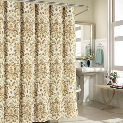 Biltmore 100 Cotton Shower Curtain In Taupe
