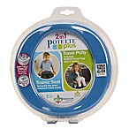 Potette® Plus 2-in-1 Travel Potty and Trainer Seat in Blue