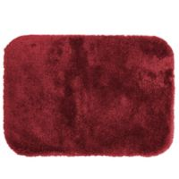 Wamsutta® Duet 17-Inch x 24-Inch Bath Rug in Wine