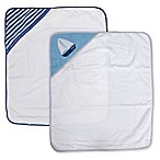 Nautica 2-Pack Hooded Towel Set in Navy