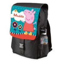 Peppa Pig Lovely Garden Toddler Backpack in Black