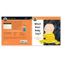 "Begin Smart™ ""What Does Baby Say?"" Board Book"