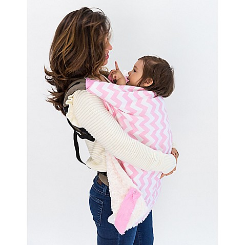 Bella Bundles™ Infant 4-in-1 Blanket on the Go in Pink Chevron