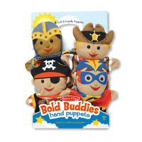 Melissa and Doug® Bold Buddies Hand Puppets (Set of 4)