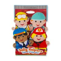 Melissa and Doug® Jolly Helpers Hand Puppets (Set of 4)