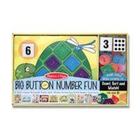 Melissa and Doug® Big Button Number Fun Activity Set