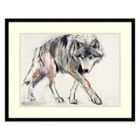Mark Adlington Wolf Framed Wall Art
