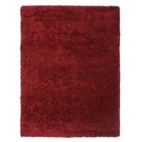 Soho 5-Foot 3-Inch x 7-Foot 6-Inch Shag Area Rug in Red