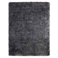Soho 5-Foot 3-Inch x 7-Foot 5-Inch Shag Area Rug in Black