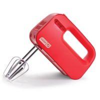 Dash™ Go SmartStore Hand Mixer in Red