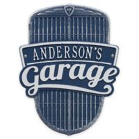 Whitehall Products 14.5-Inch Car Grill Garage Plaque in Blue/Silver