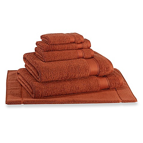 Buy Wamsutta 174 Hygro 174 Duet Bath Mat In Spice From Bed Bath