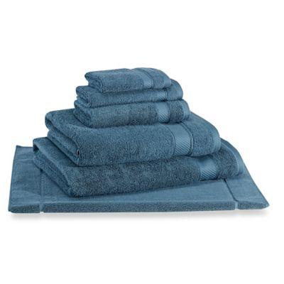 Wamsutta  Hygro Duet Hand Towel in Teal. Buy Teal Towels from Bed Bath   Beyond